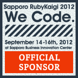 SapporoRubyKaigi 2012 OfficialSponsor